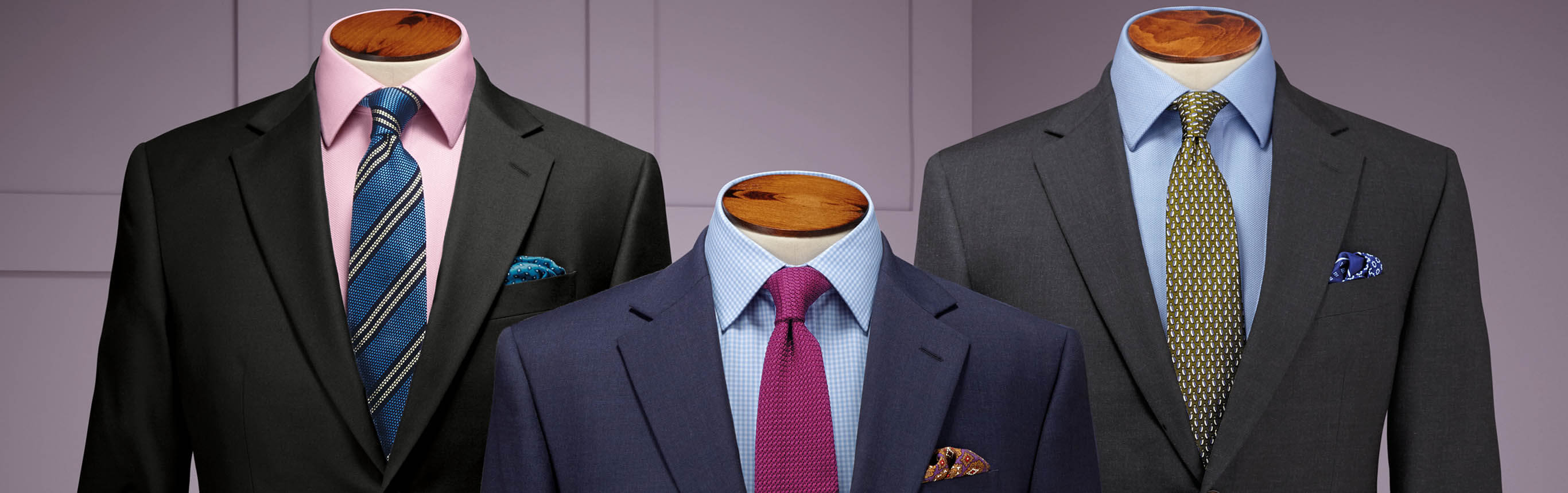 Image of twill suits