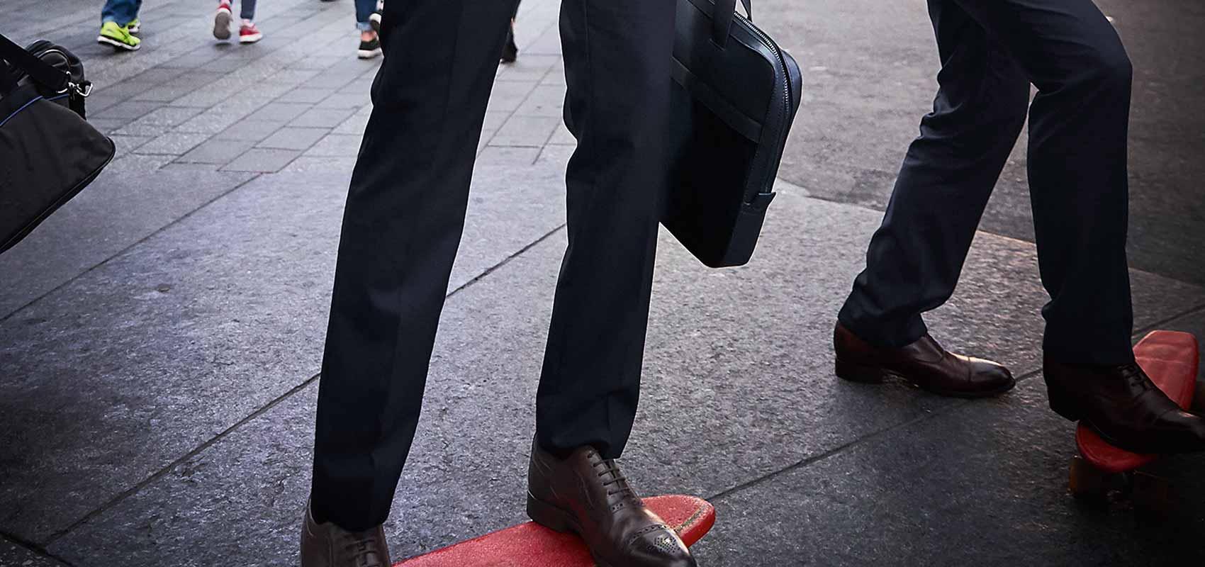Charles Tyrwhitt suit trousers
