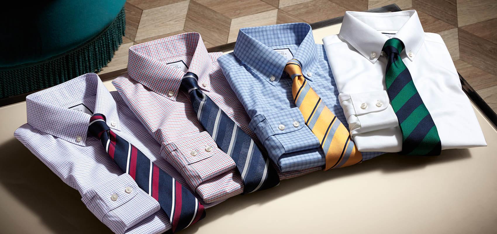 Charles Tyrwhitt Non-Iron Button Down Shirts