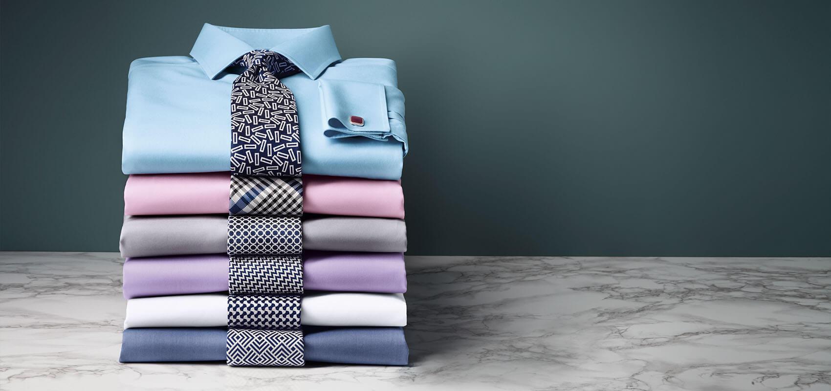 Non-iron twill shirts