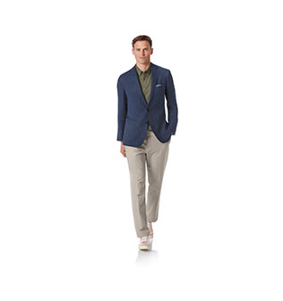 A man in a jacket