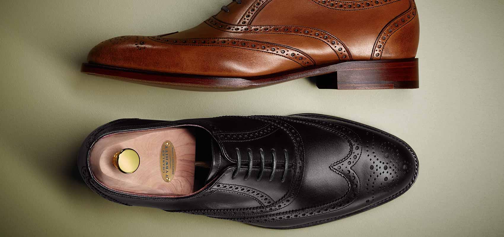 Charles Tyrwhitt In England gefertigte Schuhe