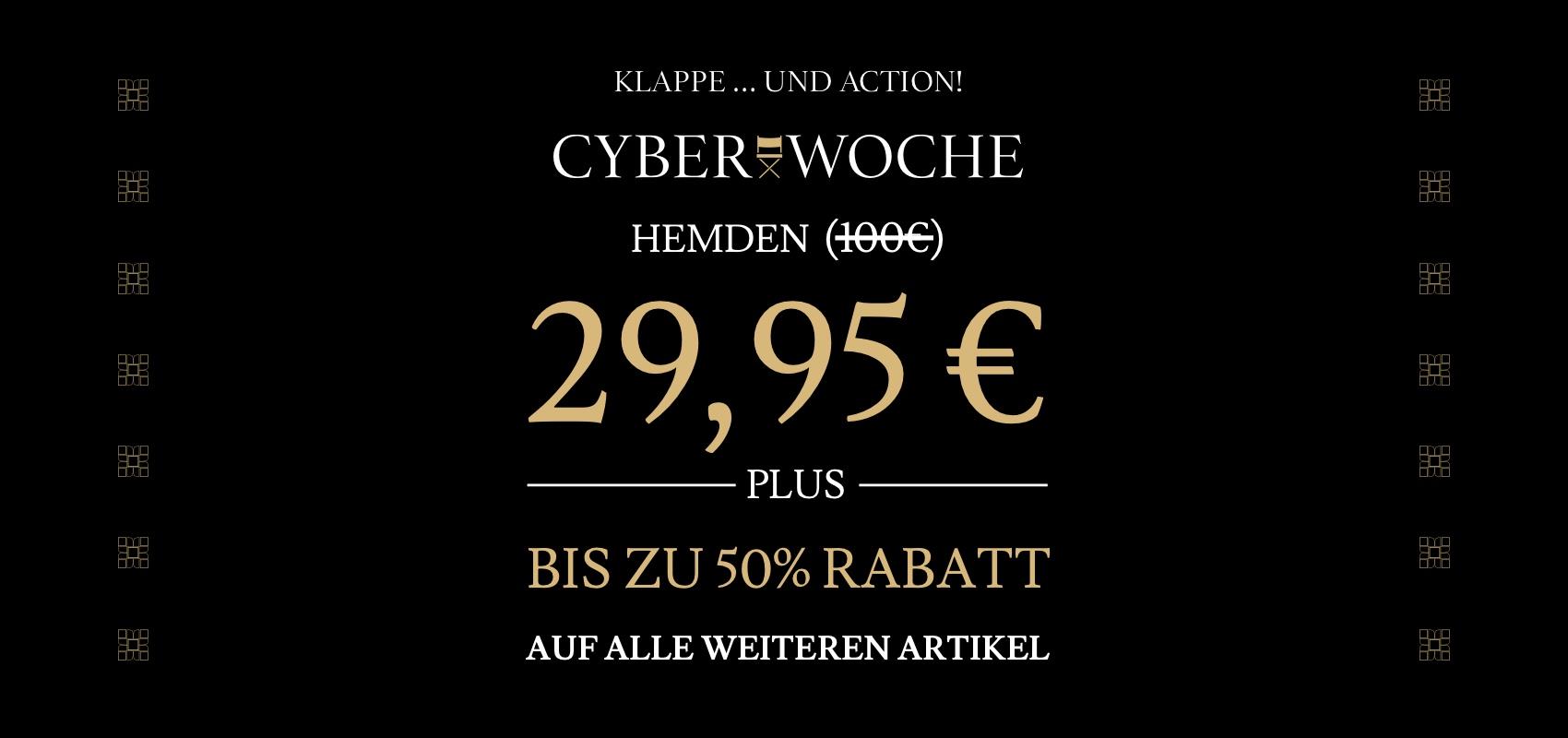 Charles Tyrwhitt Cyber Woche Hemden 29,95€ plus bis zu 50% Rabatt auf alle weiteren Artikel