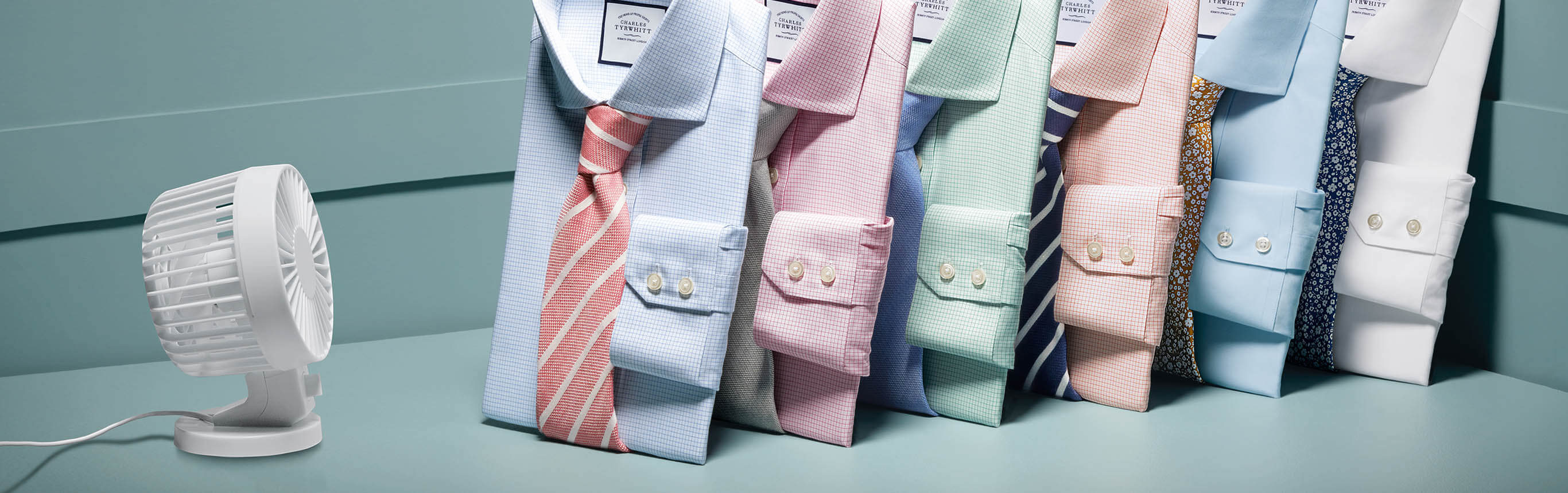 Image of non-iron cool shirts