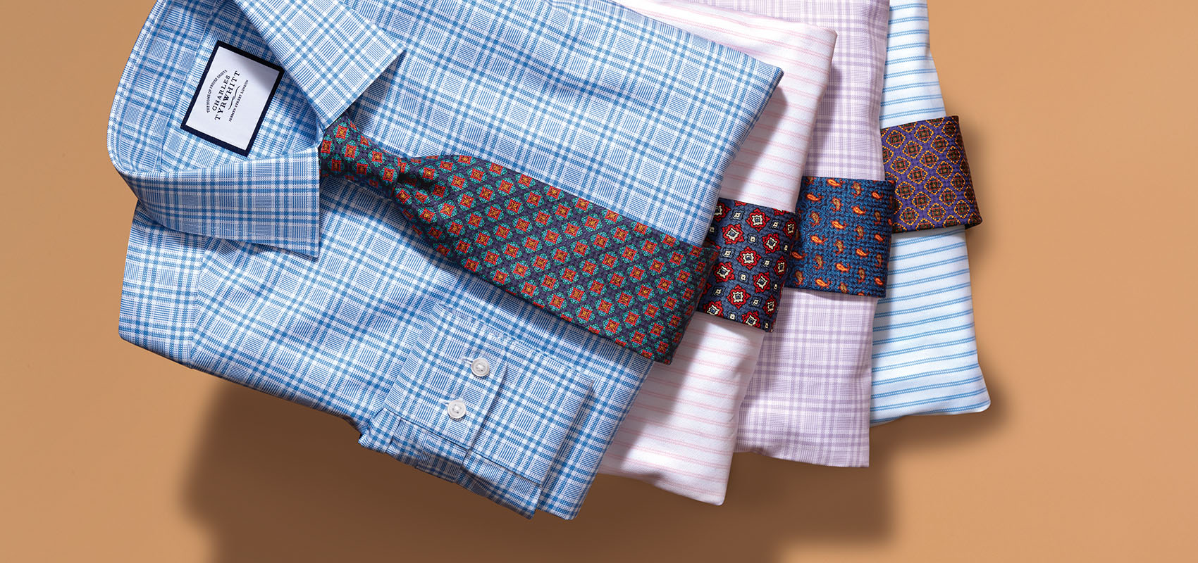 Charles Tyrwhitt Luxury English Ties