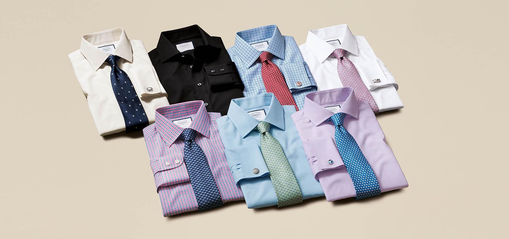 Charles Tyrwhitt Poplin Weave Shirts