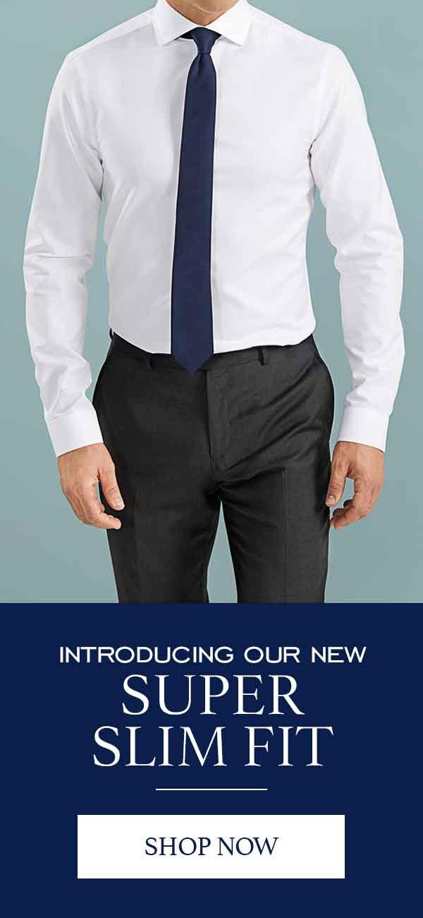 Super slim fit shirts