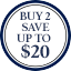 Ties Multibuy Roundel - Buy 2 save up to $20