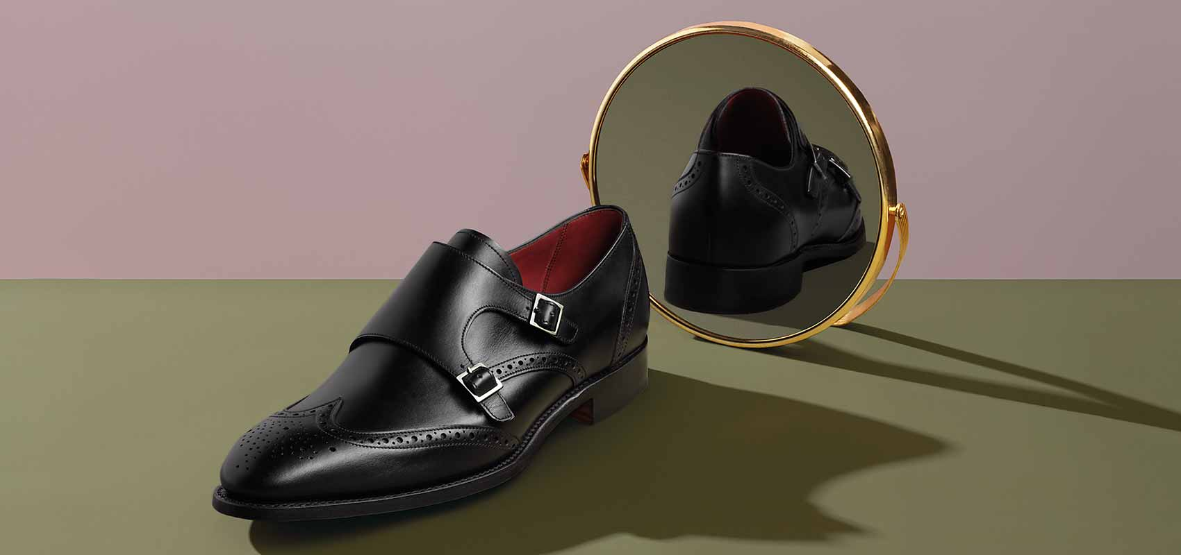 Luxury double Monk shoes