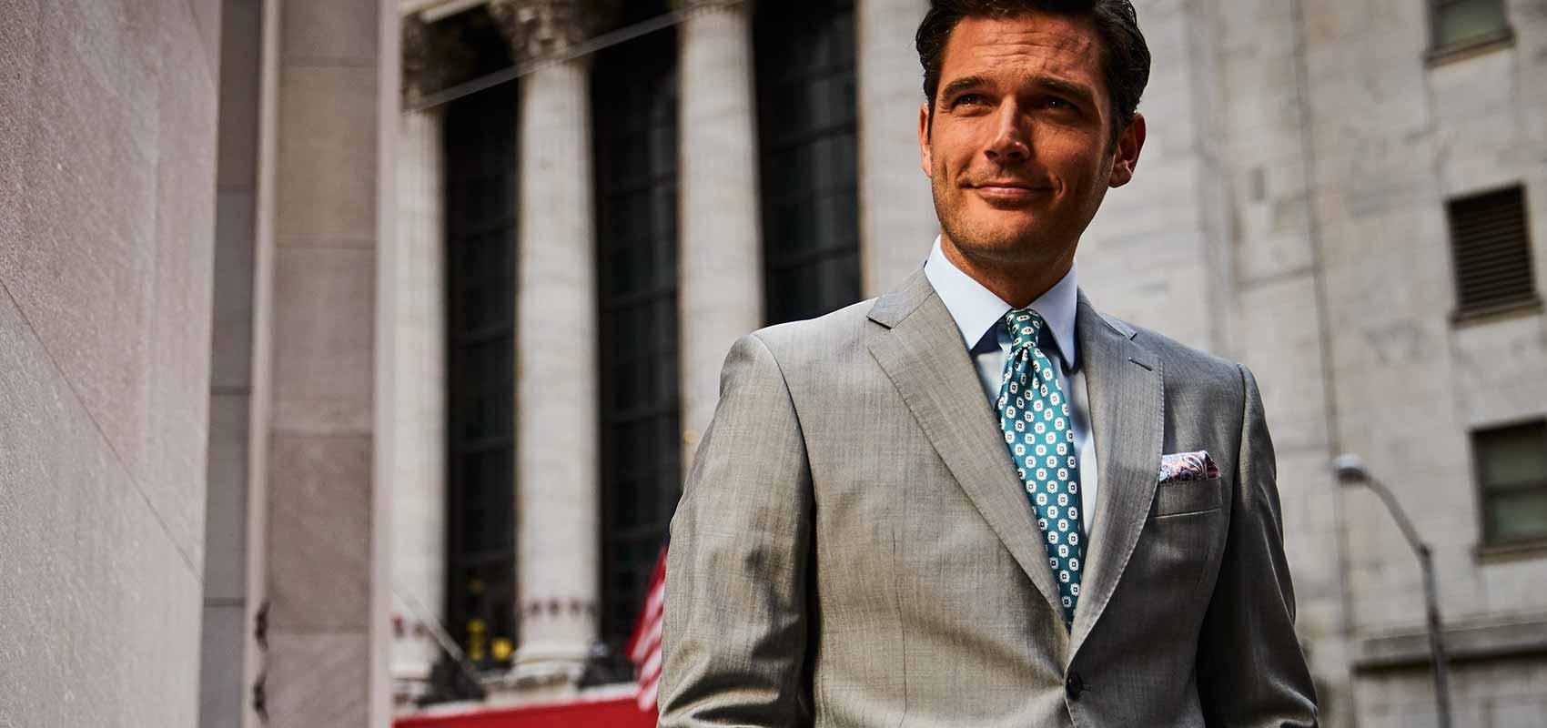 Charles Tyrwhitt Luxury suits