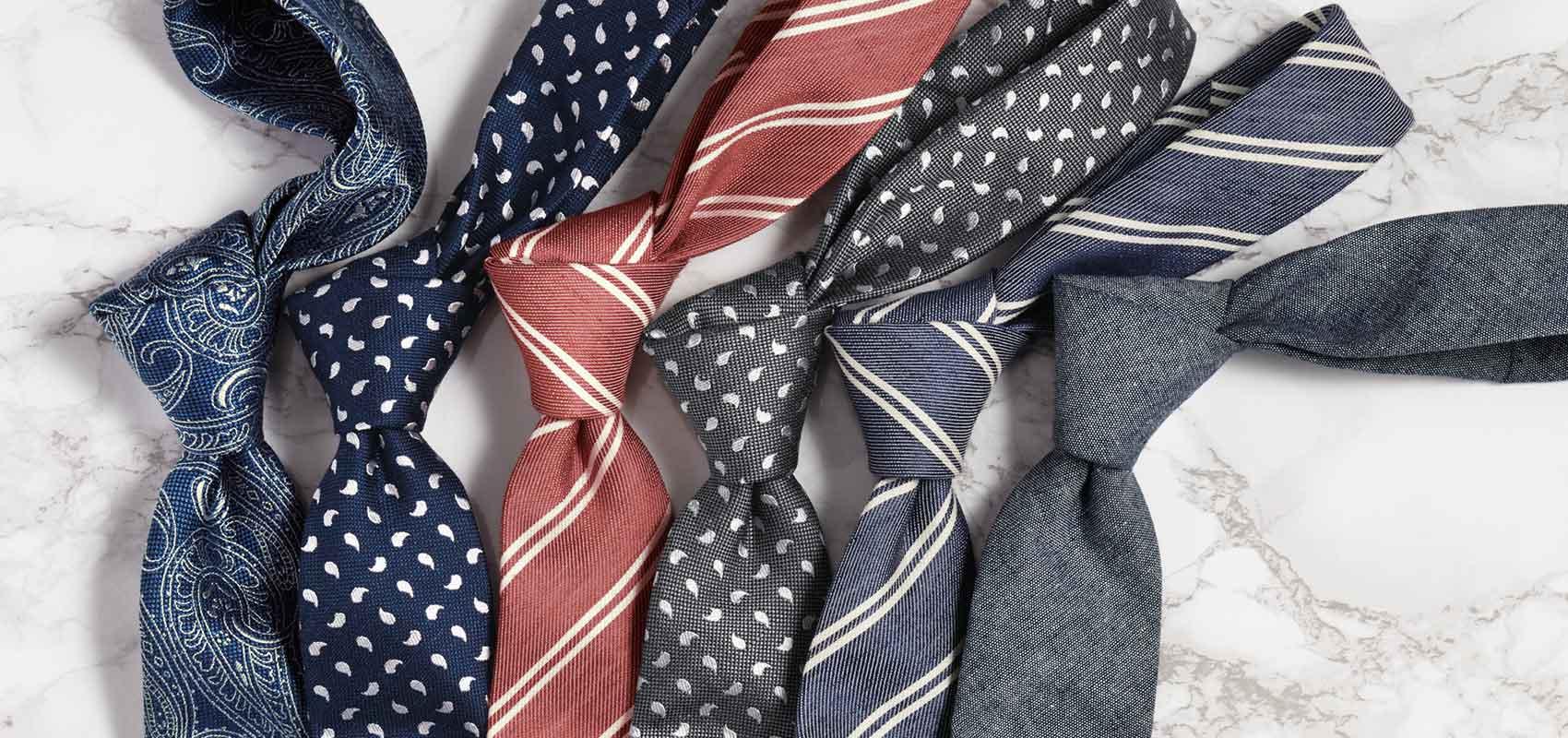 Charles Tyrwhitt Schmale Krawatten