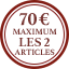 Boutons de manchette Label Multi-buy  - 70 € Maximum Les 2 Articles