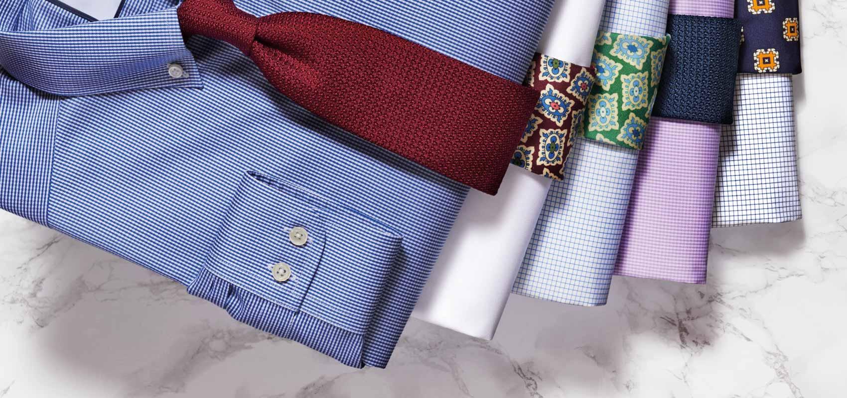 Non-iron twill button down shirts