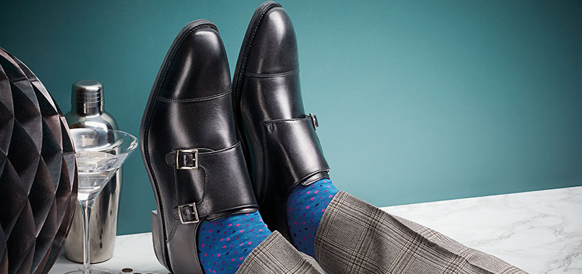Charles Tyrwhitt Black Shoes